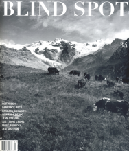 BLIND SPOT Issue 34, Lawrence Beck, Monte Rosa and Waterfalls, 2007