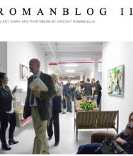 ROMANBLOG II art diary by Vincent Romaniello CLAUDIA BAEZ PAINTINGS after PROUST, curated by Anne Strauss