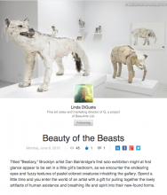 BEAUTY & THE BEASTS by Linda DiGusta, June 8, 2015
