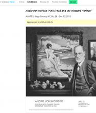 "EXHIBITION  NEST, Andre von Morisse ""Pink Freud & The Pleasant Horizon"""