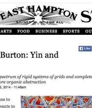 The East Hampton Star, Richmond Burton: Yin and Yang by Jennifer Landes