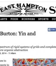 The East Hampton Star, Richmond Burton: Yin and Yang by Jennifer Landes