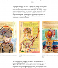 ARTSY Editorial   How Trilingual Painter Alexis de Chaunac Wrestles with His Multiple Histories by Molly Osberg