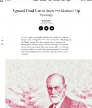 ARTSY Editorial | Sigmund Freud Stars in Andre von Morisse's Pop Paintings, by Ari Spool