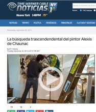 NY1 Noticias La búsqueda trascendendental del pintor Alexis de Chaunac