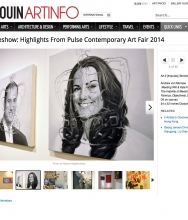 BLOUIN ART INFO: Highlights from PULSE NEW YORK, May 2014