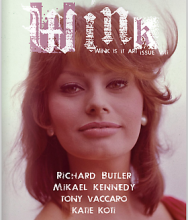 Richard Butler featured in Wink Magazine #8: Is it Art?