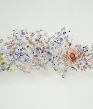 Washington City Paper / Arts Desk: Yuriko Yamaguchi's Mixed-Media Clouds at Adamson Gallery