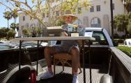 US artist retypes Amis's Lucky Jim verbatim