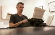 Kingsley Amis novel retyped by artist Tim Youd