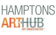 Connie Fox and William King in Hamptons Art Hub