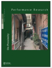 PERFORMANCE RESEARCH: A JOURNAL OF PERFORMING ARTS