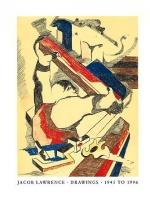 Jacob Lawrence: Drawings 1945 - 1996