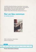 Sur un lieu commun: un entretien avec Georges Verney-Carron