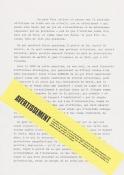 Un manuscrit trouvé
