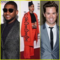 """""""Janelle Monae & Andrew Rannells Help Honor Usher at Gordon Parks Foundation Awards Dinner 2015!"""""""