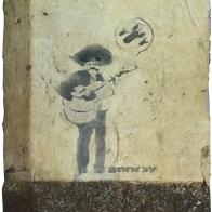 Taglialatella Galleries and the Lower Eastside Girls Club Present Banksy Original Graffiti Wall