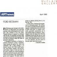 April 1990 ARTnews