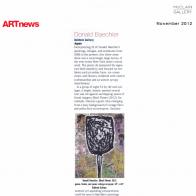 November 2012 ARTnews