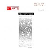 November 1999 NY Arts
