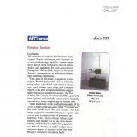 March 2001 ARTnews