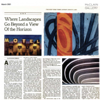 March 2001 The New York Times