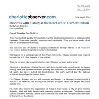 February 2014 Charlotte Observer