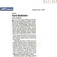 September 1994 ARTnews