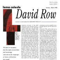 January 1992 Tema Celeste