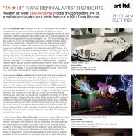 September 2013 Art Ltd. Magazine