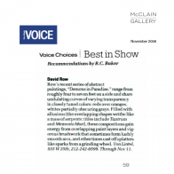 November 2006 The Village Voice