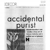 July 1994 Elle Decor