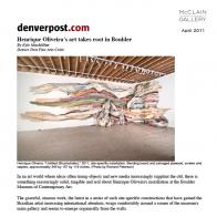 April 2011 Denver Post