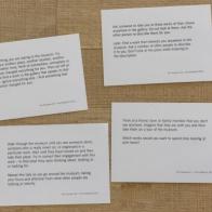 Tim Etchells Presents Ten Purposes at Tate Modern