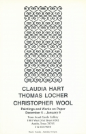 Claudia Hart, Thomas Locher, and Christopher  Wool