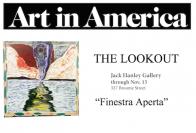 Art in America Review of Finestra Aperta