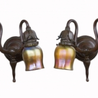 Double Arm Wall Sconces