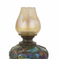 Turtleback Tile Candlestick