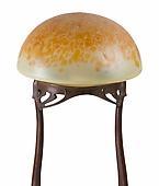 Art Nouveau Table Lamp by, Loetz