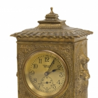 Spanish Pattern Clock