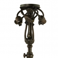 Decorated Telescopic Library Table Lamp Base