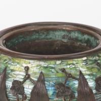Arrowhead Fern Mosaic Jardinère