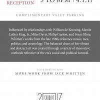 Earlier Works [Exhibition Invitation]