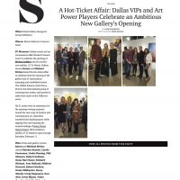 Bivins Gallery: Grand Opening
