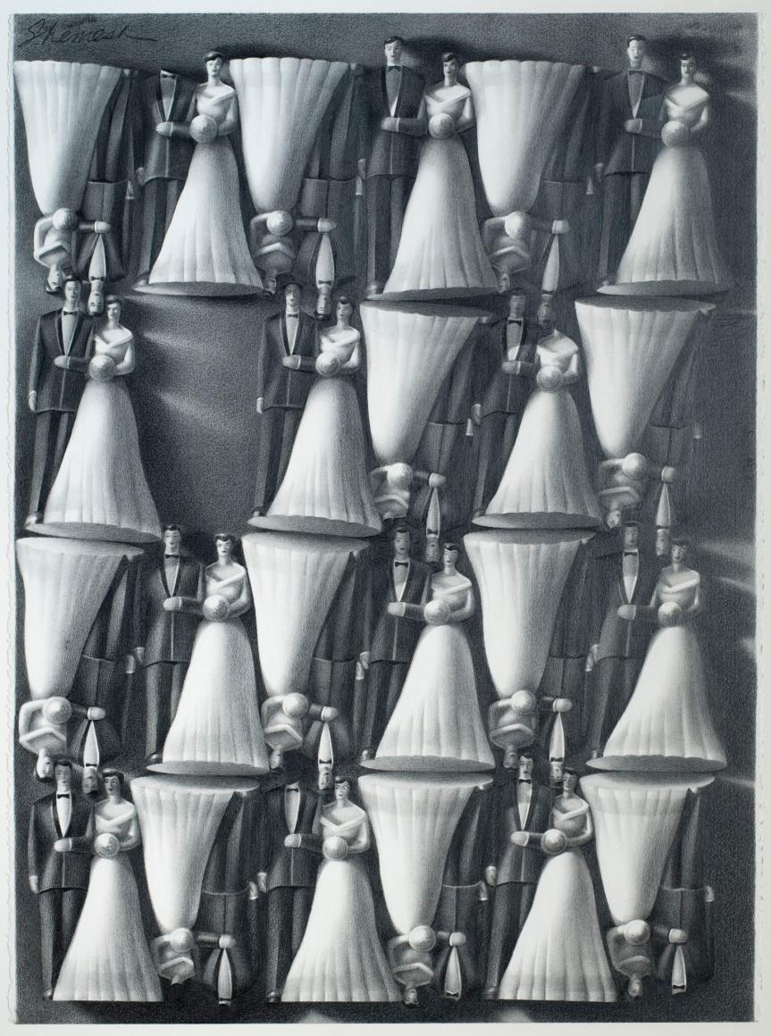 Lorraine Shemesh Artist: Allan Stone Projects