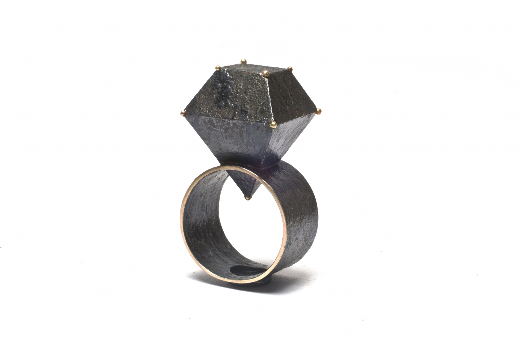 by gold ring hammered pin rose rings and silver contemporary designer jewellery jane natalie