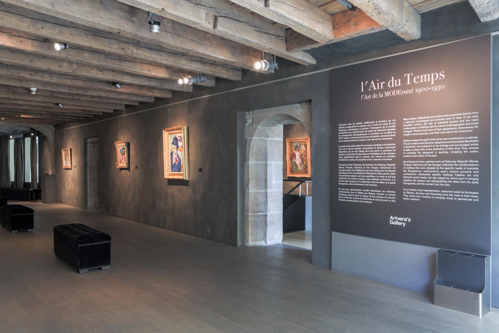Tenue D Artiste Peintre l'air du temps: the art of modernity 1900-1930 - exhibitions