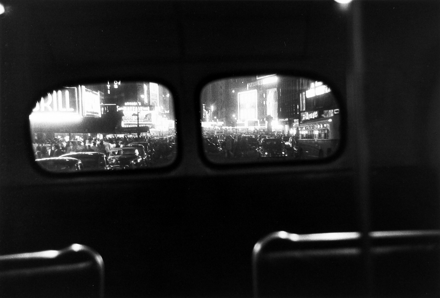 Louis Faurer - Bus Number 7, New York, 1950- Howard Greenberg Gallery