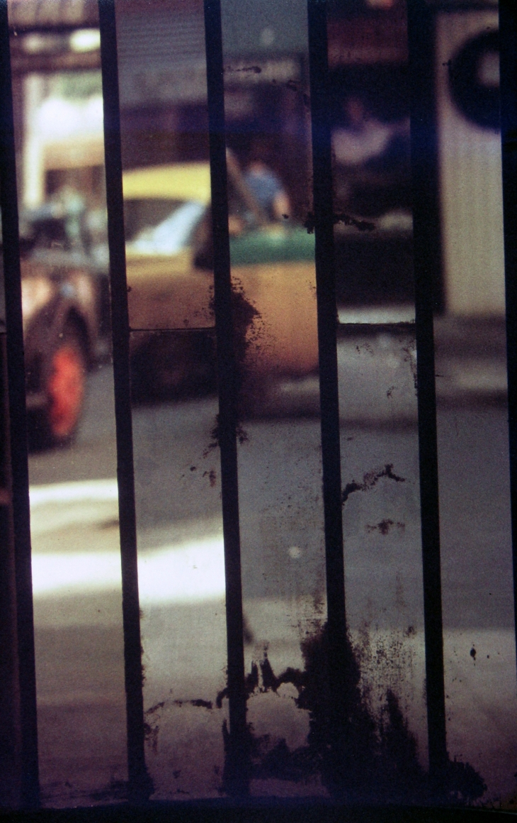 saul leiter , Mirrors, c.1958 Chromogenic print; printed later 14 x 11 inches
