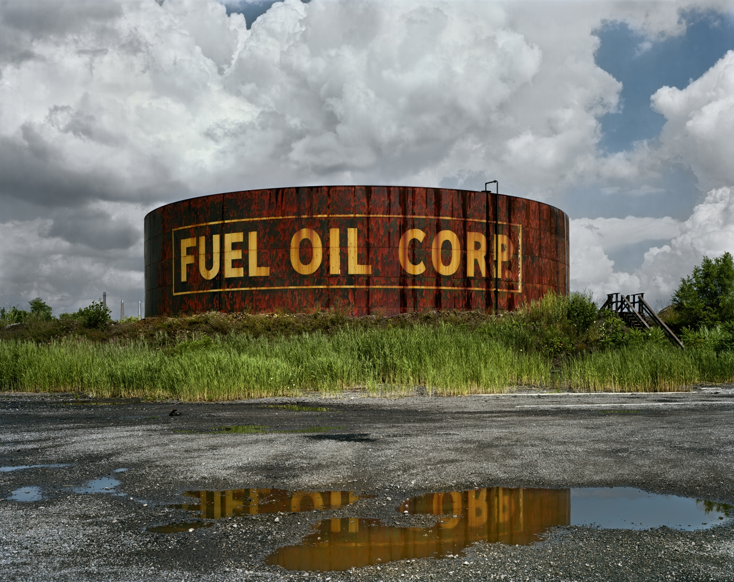 d3c4bc2ea7 Fuel Oil, from the series Detroit, 2008. Chromogenic print. Available at 30